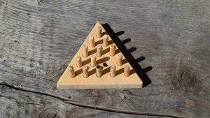 Solitär_Dreieck Puzzle